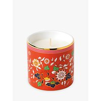 Wedgwood Wonderlust Crimson Jewel Scented Candle, Red