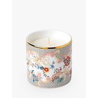 Wedgwood Wonderlust Rococo Flowers Scented Candle, White