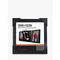 Show & Listen Vinyl Record Album LP Frame, Black