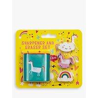 Fourth Wall Brands Unicorn Dreams Sharpener & Eraser Set