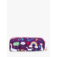 Fourth Wall Brands Unicorn Dreams Double Zip Pencil Case