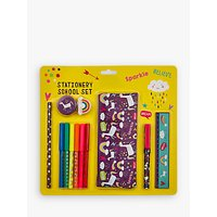 Fourth Wall Brands Unicorn Dreams Stationery School Set