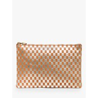 Madewell Metallic Pouch Bag, Pale Gold