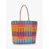 John Lewis & Partners Mixed Weave Shopper Bag, Multi