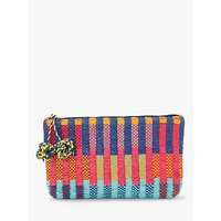 John Lewis & Partners Mixed Weave Clutch Bag, Multi
