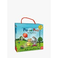 Pip and Posy The Big Balloon Children's Book and Blocks