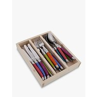 Laguiole by Jean Dubost Iridescence Cutlery Set, 18 Piece