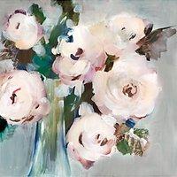 Valeria Mravyan - Bouquet I Canvas Print, 60 x 60cm, Pale Pink