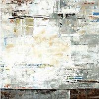 Valeria Mravyan - Zone I Canvas Print, 100 x 100cm, Grey