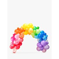 Image of Ginger Ray Balloon Arch, Rainbow