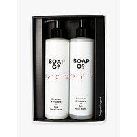 The Soap Co. Geranium & Rhubarb Hand Duo Gift Set