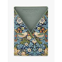 Morris and Co Strawberry Thief Passport Holder