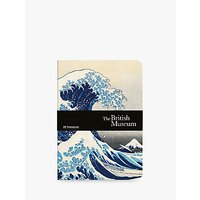Museums & Galleries British Museum Hokusai Wave A5 Notebook