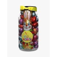Farhi Foiled Easter Eggs and Bunny Jar, 570g
