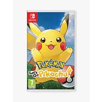 Pok ©mon: Let's Go, Pikachu!, Switch