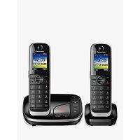 Panasonic KX-TGJ422EB Digital Cordless Telephone with Nuisance Call Blocker and Answering Machine, Twin Dect