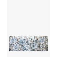 Jane Morgan - Pastel Blossom Framed Canvas, 41 x 101cm, Blue/Multi