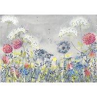 Catherine Stephenson - Dandelion Meadow Canvas Print, 70 x 100cm, Grey/Multi