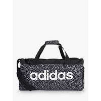 Adidas Linear Duffel Bag, Black/white