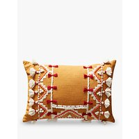 Anthropologie Vineet Bahl Cushion, Orange