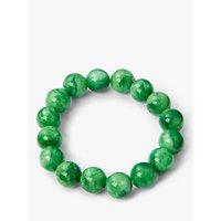 John Lewis & Partners Round Bead Stretch Bracelet