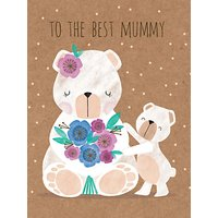 Art File Mummy Bears Mother's Day Card