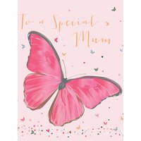Belly Button Designs Butterfly Mother's Day Card
