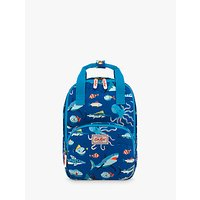 Cath Kids Children's Spooky Fish Print Backpack, Blue