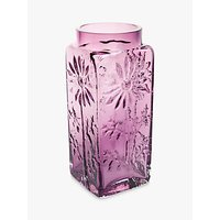 Dartington Crystal Marguerite Large Vase, H18.5cm