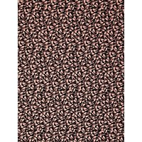 Spendlove Abstract Palm Leaves Print Fabric, Pink