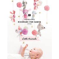 Rico Design Little Animals Crochet and Knitting Pattern Book