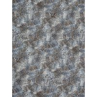 Robert Kaufman Snake Print Fabric, Grey/Blue