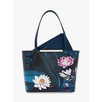Ted Baker Sirene Mini Shopper Bag, Blue Teal
