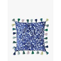 bluebellgray Pomegranate Cushion, Blue