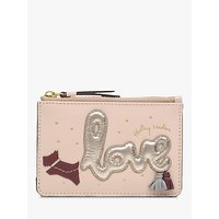 Radley Love Is In The Air Leather Small Zip Top Coin Purse