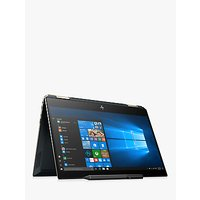 "HP Spectre x360 13-ap0004na Convertible Laptop with HP Tilt Pen Stylus, Intel Core i5 Processor, 8GB RAM, 256GB SSD, 13.3"" Full HD, Poseidon Blue"