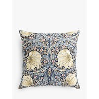 Morris & Co. Pimpernel Cushion, Indigo