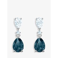 shop for Swarovski Vintage Crystal Teardrop Drop Earrings at Shopo