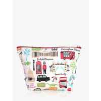 Milly Green London Adventures Cosmetic Bag