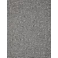 Kokka Textured Cross Hatch Print Fabric, Grey