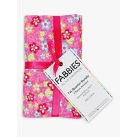Fabric Editions Floral Paisley Fat Quarter Fabrics, Pack of 5, Multi