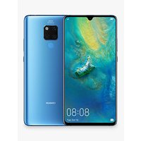 Huawei Mate 20 X Dual SIM Smartphone, Android, 7.2, 4G LTE, SIM Free, 128GB, Midnight Blue