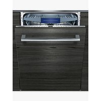 Siemens SX736X19ME Integrated Dishwasher, A++ Energy Rating, Stainless Steel