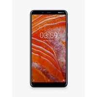 "Nokia 3.1 Plus Smartphone, Android, 6"", 4G LTE, SIM Free, 32GB, Royal Blue"