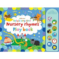 Babys Very First Nursery Rhymes Play Book Childrens Book