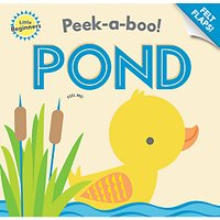 Peek-a-Boo Pond Children's Book