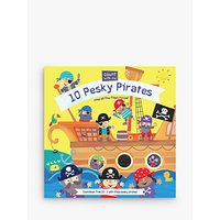 Count With Me! 10 Pesky Pirates Children's Board Book