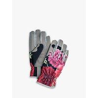 Burgon and Ball RHS British Bloom Print Gardening Gloves, M/L