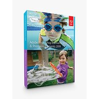Adobe Photoshop and Premiere Elements 2019, Photo and Video Editing Software