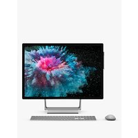 Microsoft Surface Studio 2, Intel Core i7, 1TB SSD, 32GB RAM, 28 PixelSense Display, Platinum